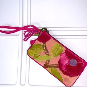 Coach Poppies for Peace Special Edition Wristlet